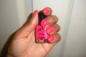Snapped: Pastry x M2M Nailpolish in 'Sugarberry'
