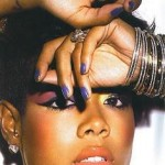 Snapped: Kelis' Nails (I Want this Color!)