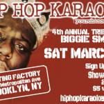 Hip-Hop Karaoke In Honor of Biggie This Saturday in BK