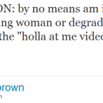 Today's Negro Please Award Goes to Chris Brown (And Tyga the Enabler)