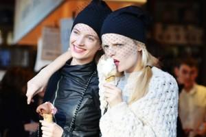 DIY Jil Sander Veiled Beanie Hat