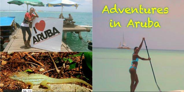 Travelista Teri Visits Aruba