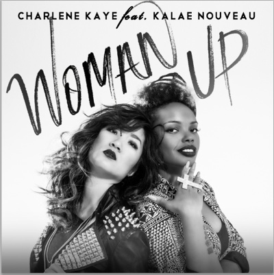 Charlene Kaye and Kalae Nouveau in 'Woman Up'