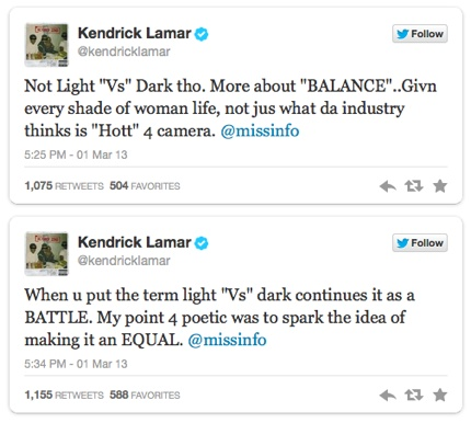Kendrick Lamar Talks Poetic Justice Lead