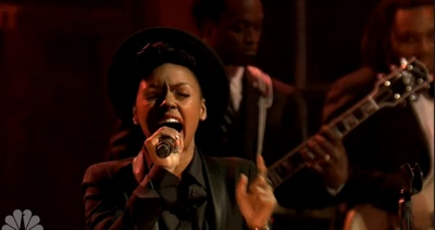 Janelle Monae Covers Jimi Hendrix With the Roots