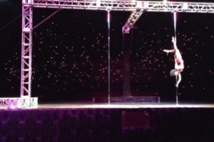"Pole Crush: Crystal Belcher Performs ""Strange Fruit"""