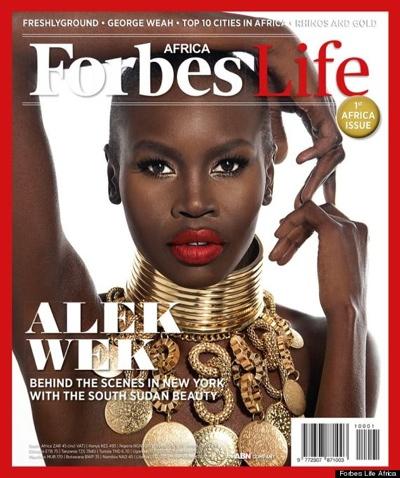 Alek Wek Forbes Africa