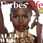 Alek Wek Slays on the Cover of 'Forbes Life Africa'