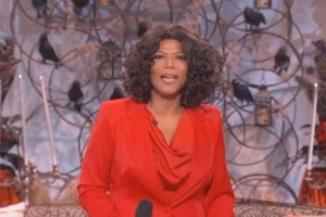 Halloween Costume Win: Queen Latifah as Oprah