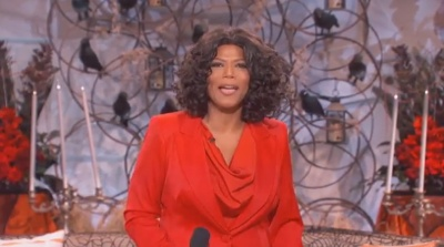 Queen Latifah as Oprah for Halloween