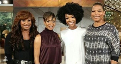 Brandy, Queen Latifah, MC Lyte, Yo-Yo Reunite